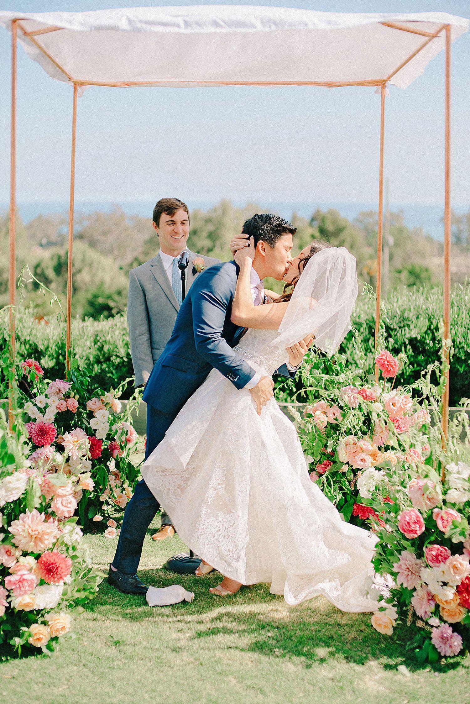 A Fun, Modern California Wedding Wedding chuppah, Jewish