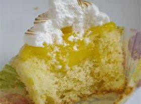 best recipes for cuties everywhere!: Lemon Delight Filled Cupcakes