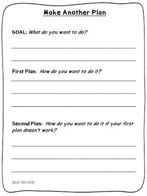 Social Thinking Executive Functioning >> Thinking Flexibly Making Another Plan Slp How To Plan Social
