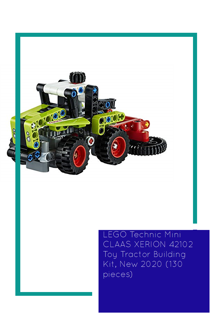 Lego Technic Mini Claas Xerion 42102 Toy Tractor Building Kit New 2020 130 Pieces Hot In 2020 Lego Technic Sets Lego Tractor Tractor Toy