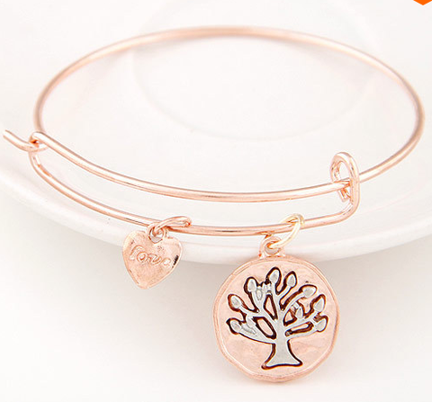 Stylish Cuffs Bracelets with Charms- $8.99- parcellos.com