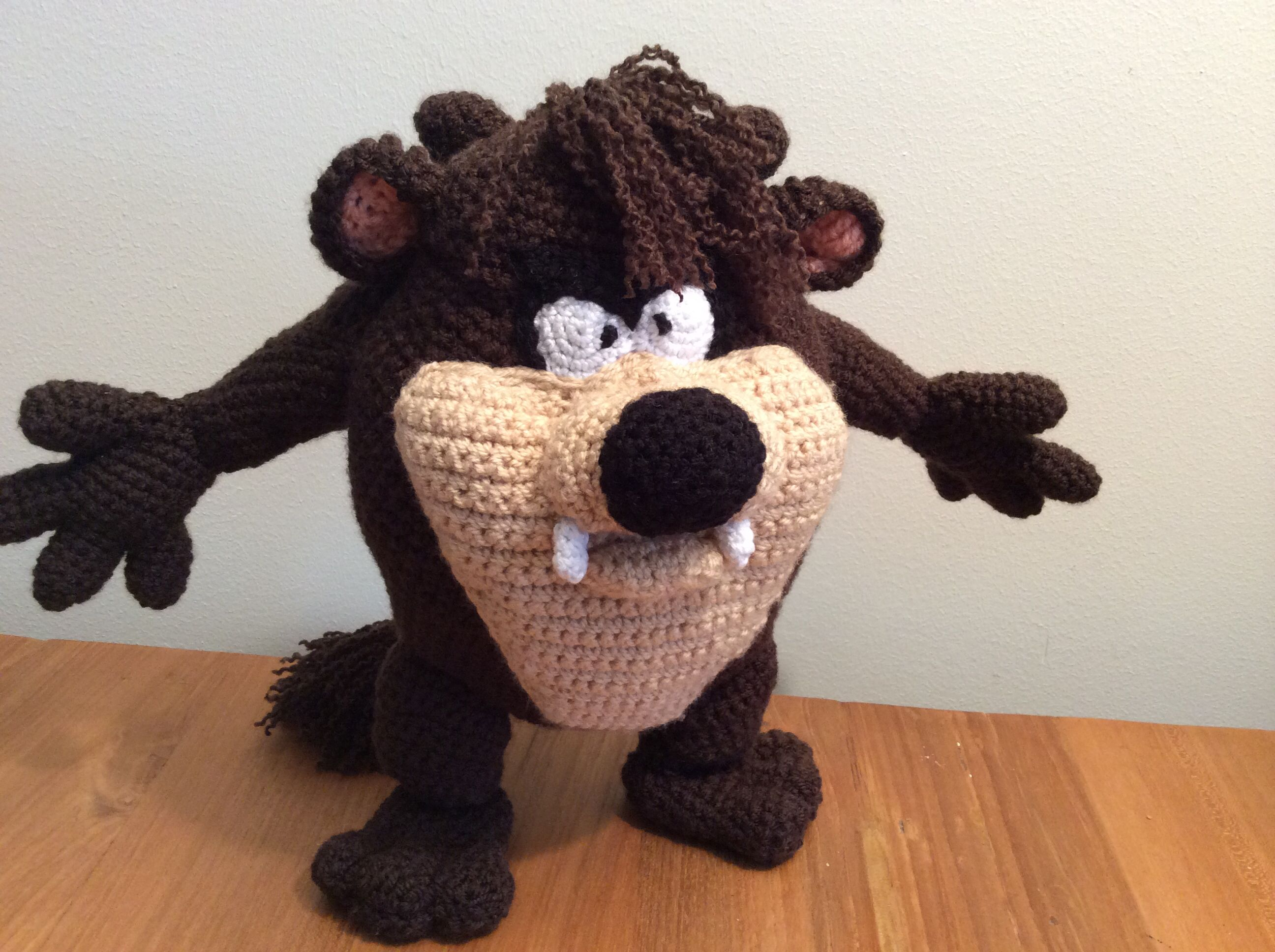 Amigurumi For Dummies Book : Taz. looney tunes free book. looney tunes crochet pinterest