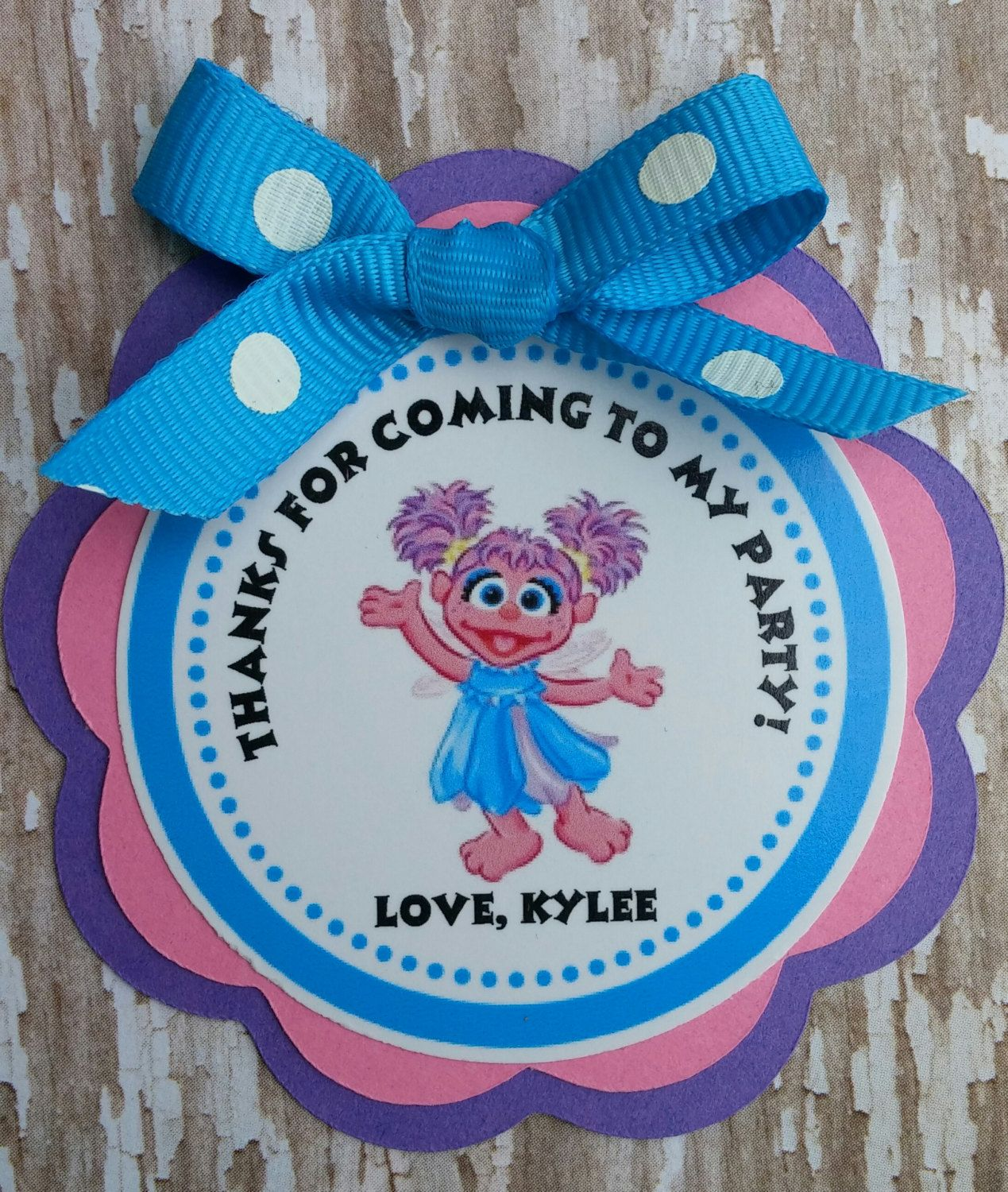 Abby Cadabby Party Decorations Abby Cadabby Birthday Party Centerpiece By Khloeskustomkreation