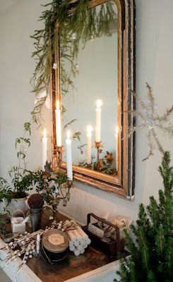 Liking the natural take on decorating...