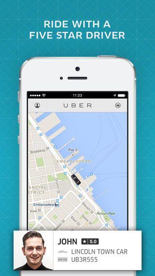 Top Free iPhone App #79: Uber - Uber Technologies, Inc. by Uber Technologies, Inc. - 04/30/2014