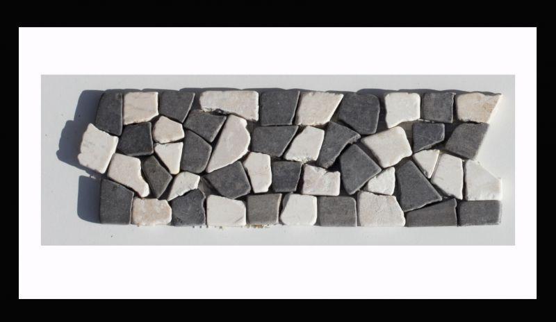 Bordure Naturstein Mosaikfliesen Auf Netz Borduren Die Sowohl Im Kontext Mit Unser Mosaik Fliesen Als Auch Solo Zur Aufwer Mosaikfliesen Natursteine Fliesen