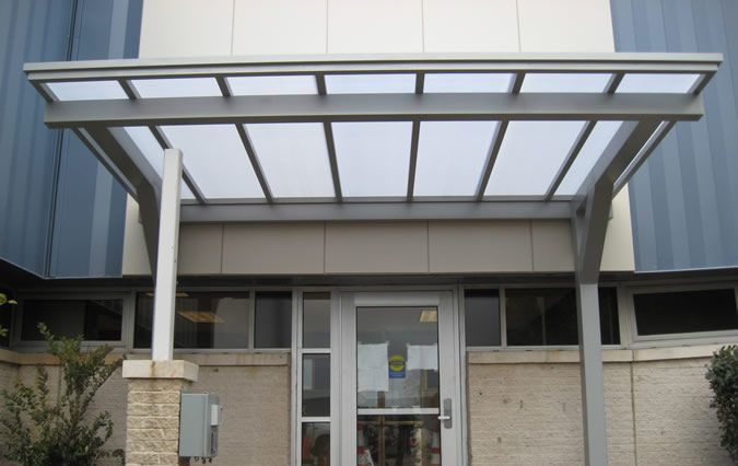 Overhead Supported Canopies Overhead Supported Metal Awning Gallery & Overhead Supported Canopies: Overhead Supported Metal Awning ...