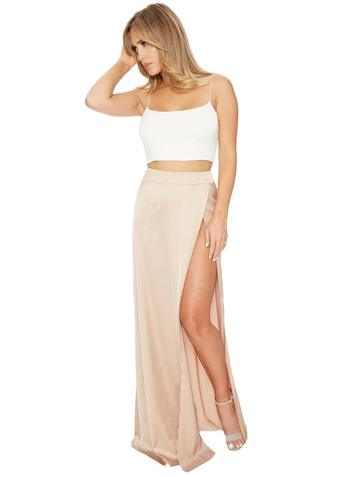 Silk Rush Maxi Skirt PBFS Nakedwardrobe