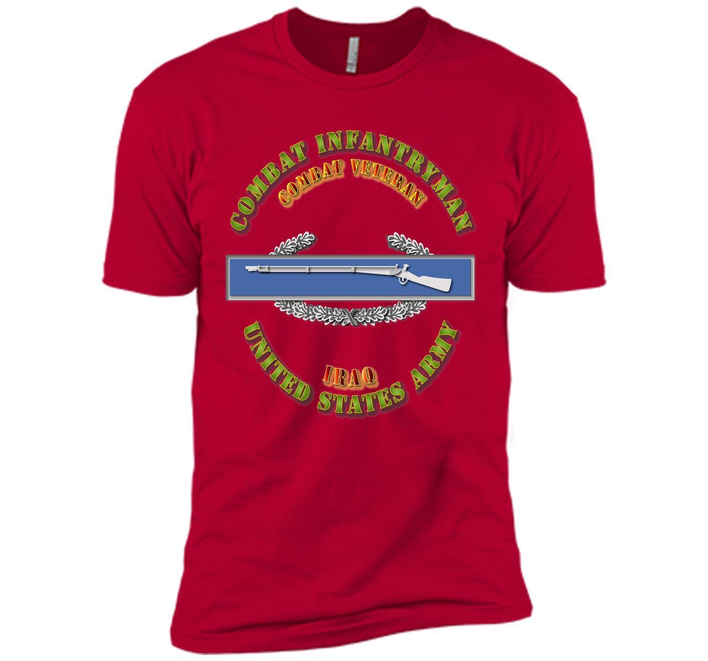 Army - CIB - 1st Award - Combat Veteran - Iraq T-Shirt