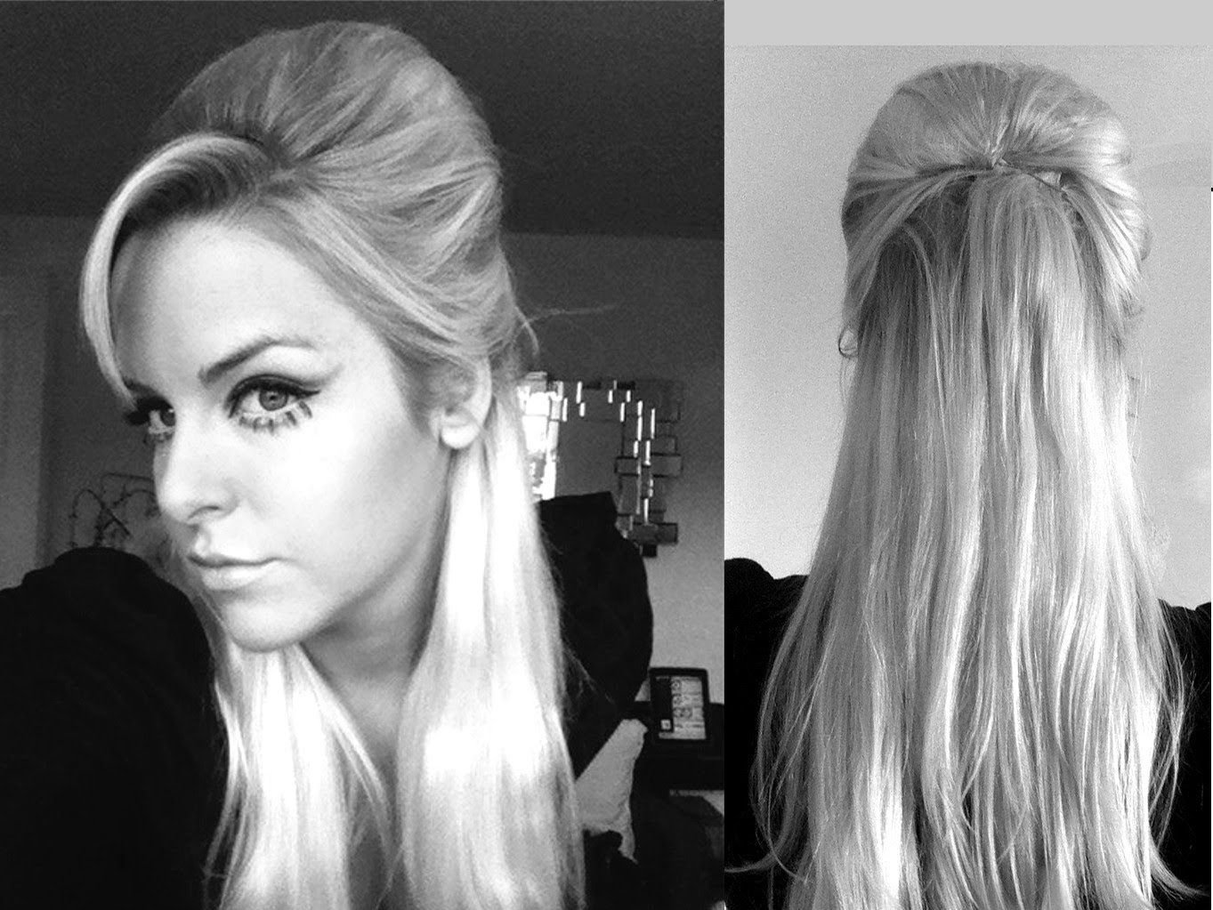 mod 60's beehive hair style | oh la la beautiful! | pinterest