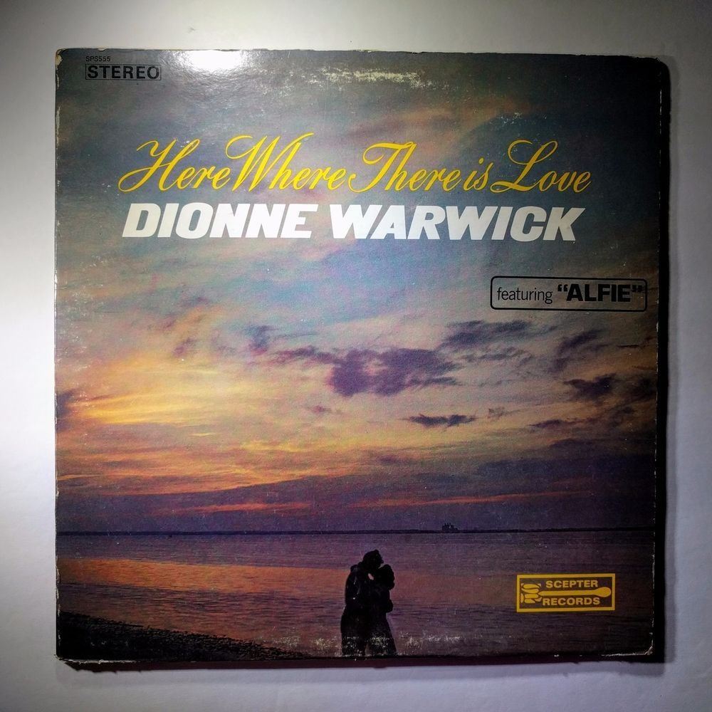 Vinyl Record Dionne Warwick Here Where There Is Love Sps555
