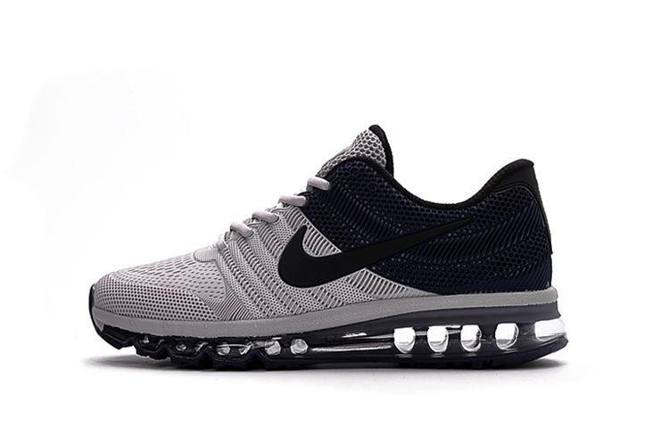 Nike 2017 KPU New Running Shoes Grey Blue 40 47   Nike shoes