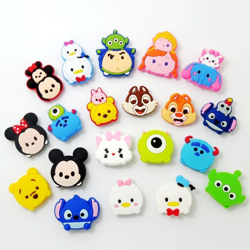 9952b26c49 20pcs Cartoon TSUM Mickey Minnie Duck Shoe Charms Fit Croc/Jibbitz  Bracelets | Clothing, Shoes & Accessories, Unisex Clothing, Shoes & Accs,  ...
