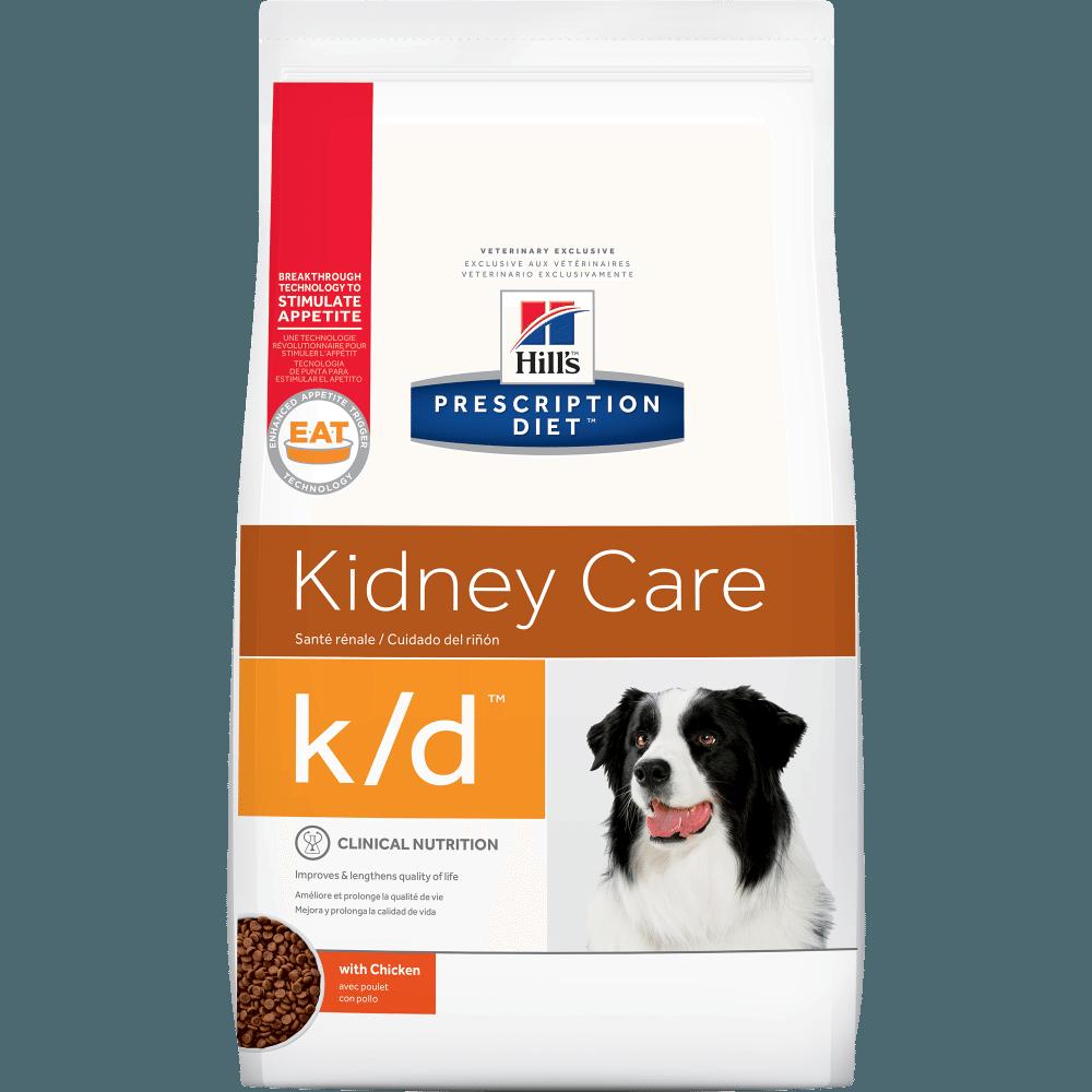 Hills Prescription Diet k/d Canine Kidney Care Chicken Formula Dry Dog Food