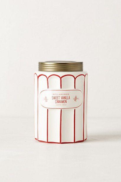 Boulangerie Jar Sweet Vanilla Cinnamon Candle 26 00 Anthropologie
