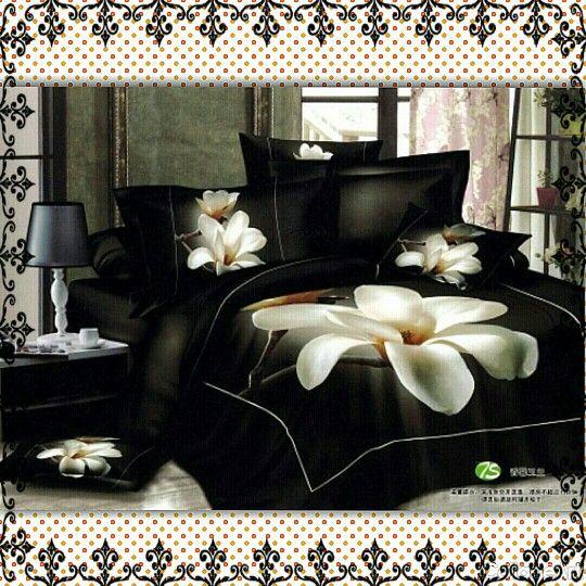Black and white flower comforter very fancy fancy chic pinterest black and white flower comforter very fancy mightylinksfo