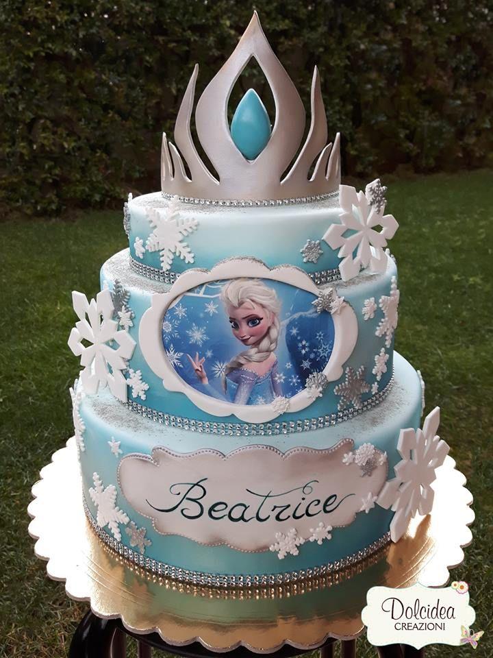 Torta Frozen Elsa Disney Frozen Elsa Cake With Images