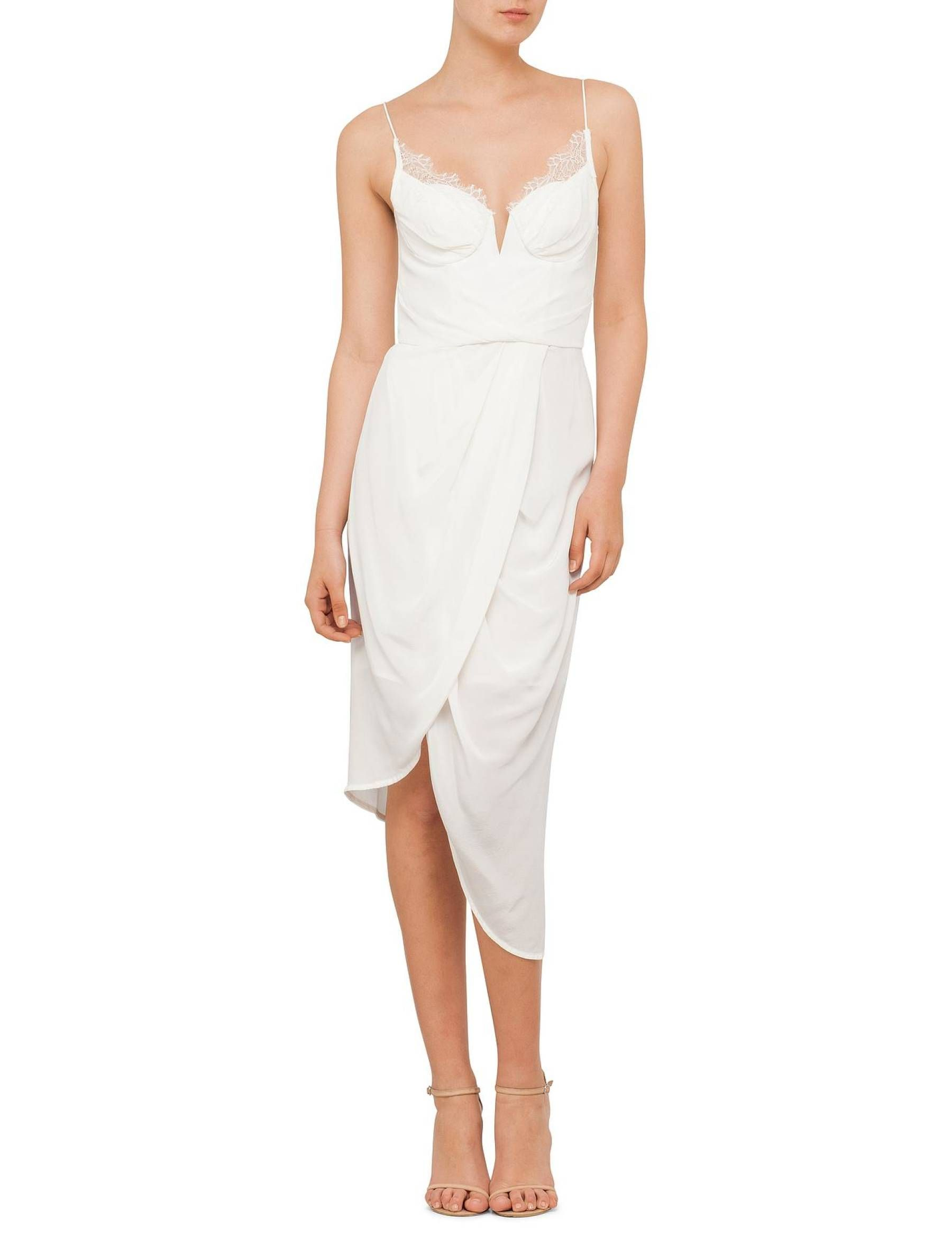 David Jones - Zimmermann Silk Lace Underwire Dress | Outfits ...