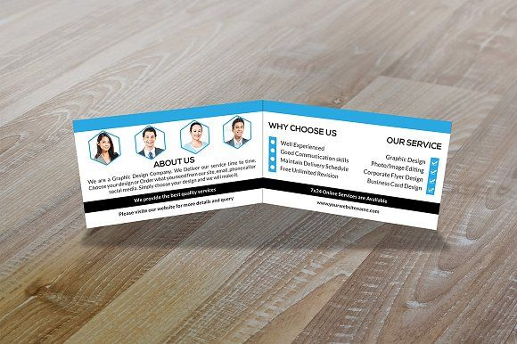Folded Business Card Vol 1 Business Cards Creative Templates Folded Business Cards Business Card Template