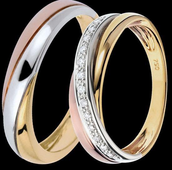 Bien connu bague mariage homme et femme | bijoux | Pinterest | Bague mariage  GG16