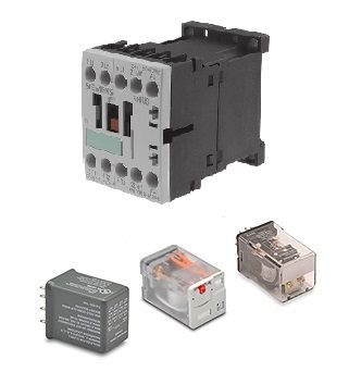 Types of Relays and Contactors | Relay logic & Pneumatic