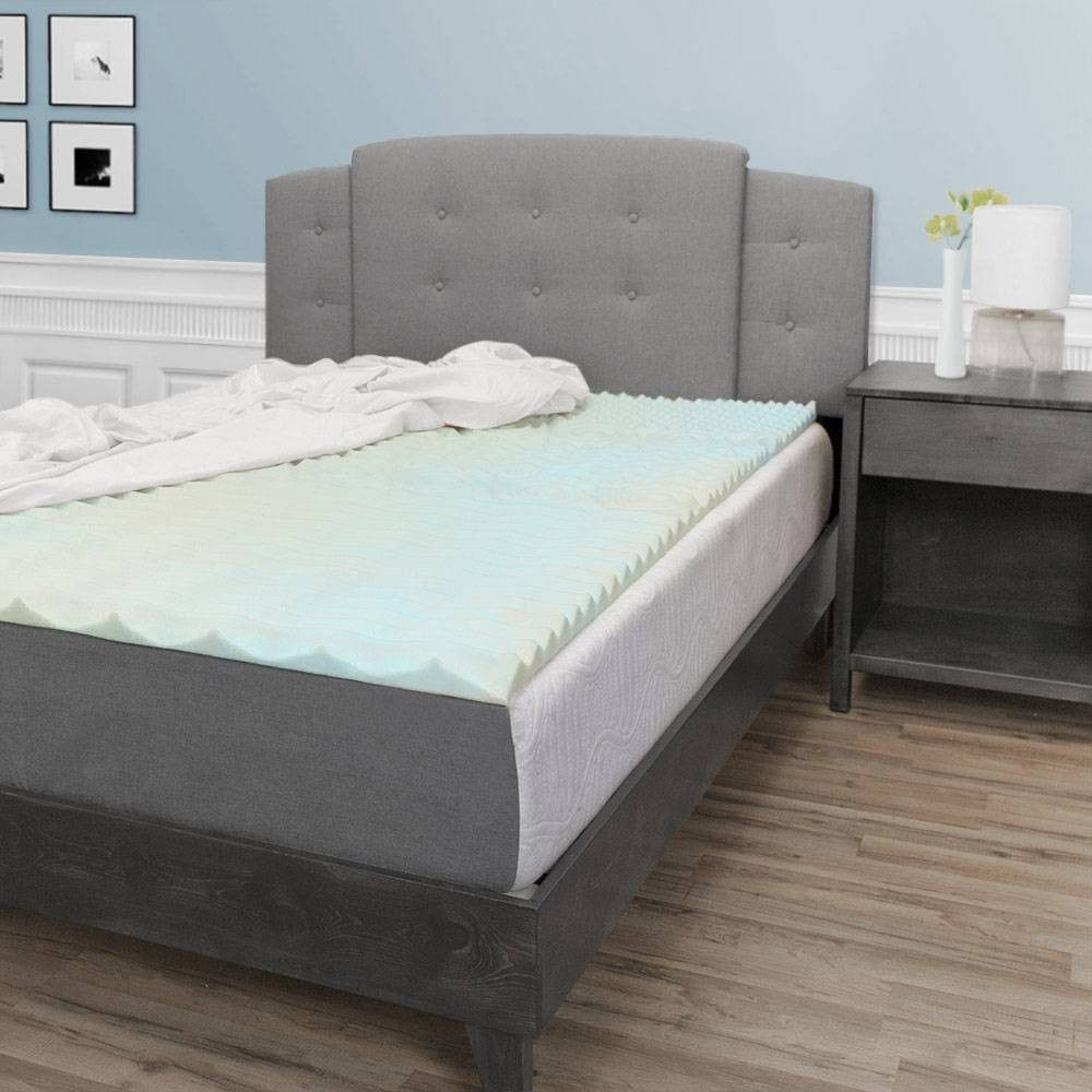 Eluxury 5 Zone Convoluted Foam Mattress Topper King In 2020
