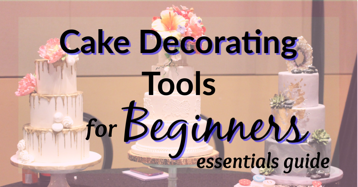 Cake Decorating Tools for Beginners | Cake decorating ...