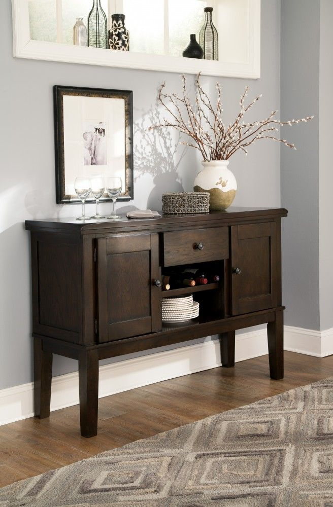 Merveilleux Haddigan   Dark Brown   Dining Room Server