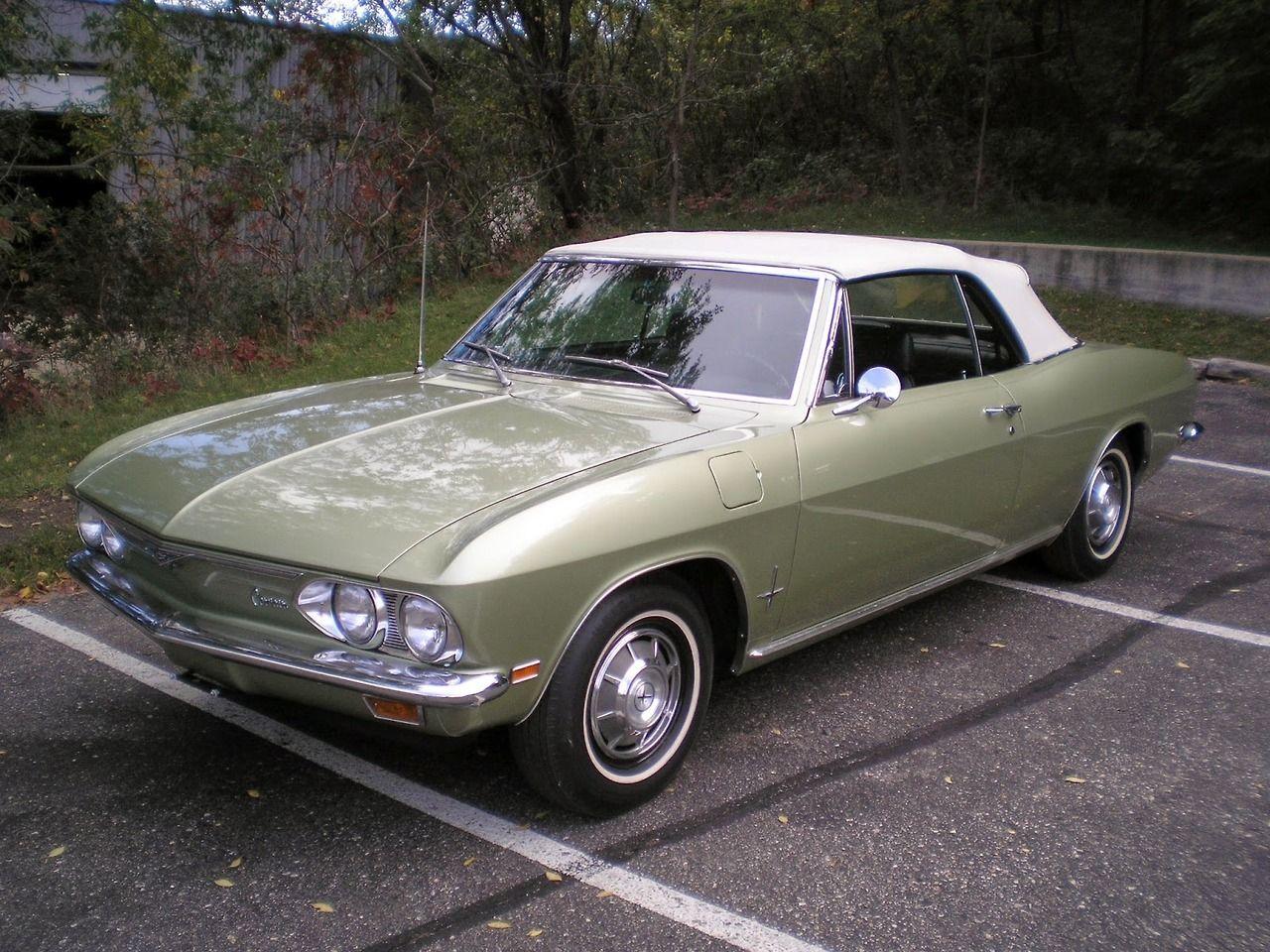 1969 Chevrolet Corvair Monza Convertible Chevrolet Corvair Chevy Corvair Chevrolet