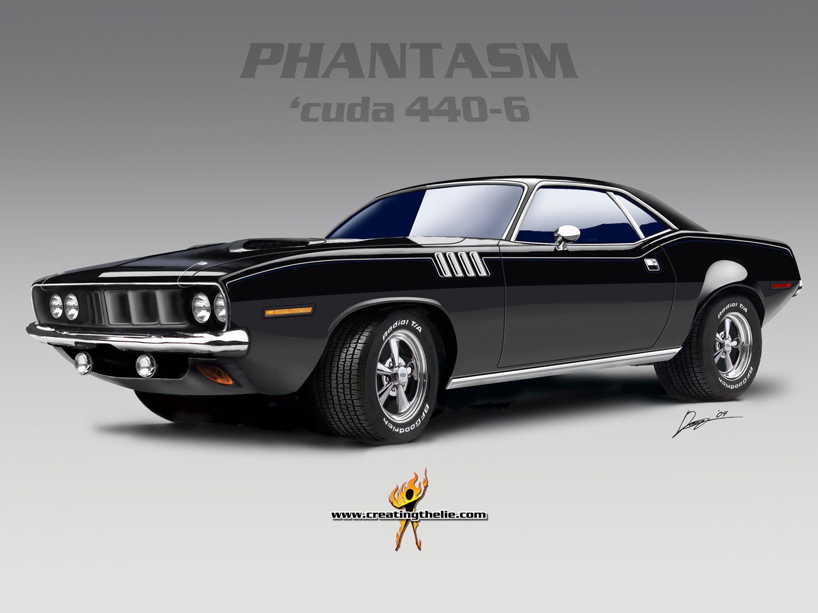 Phantasm Cuda 440 Six Pak Mopar Muscle Cars Muscle Cars Classic Cars Muscle