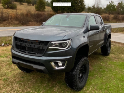 2019 Chevrolet Colorado 17x8 5 0mm Kmc Km717 In 2020 Chevy