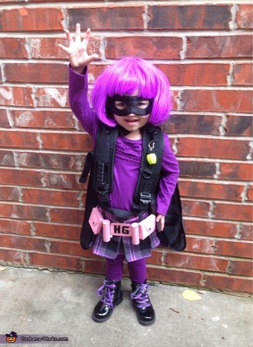 Hit Girl - Halloween Costume Contest at Costume-Works - toddler girl halloween costume ideas