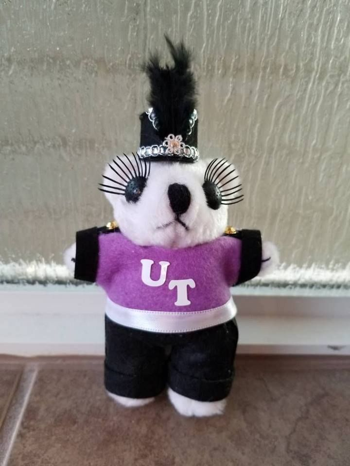 Girl Band Bear for Homecoming Mum by Twinkie Designs #texastwinkies Dressed Bear, Homecoming, Cypress TX #texastwinkies Girl Band Bear for Homecoming Mum by Twinkie Designs #texastwinkies Dressed Bear, Homecoming, Cypress TX #texastwinkies