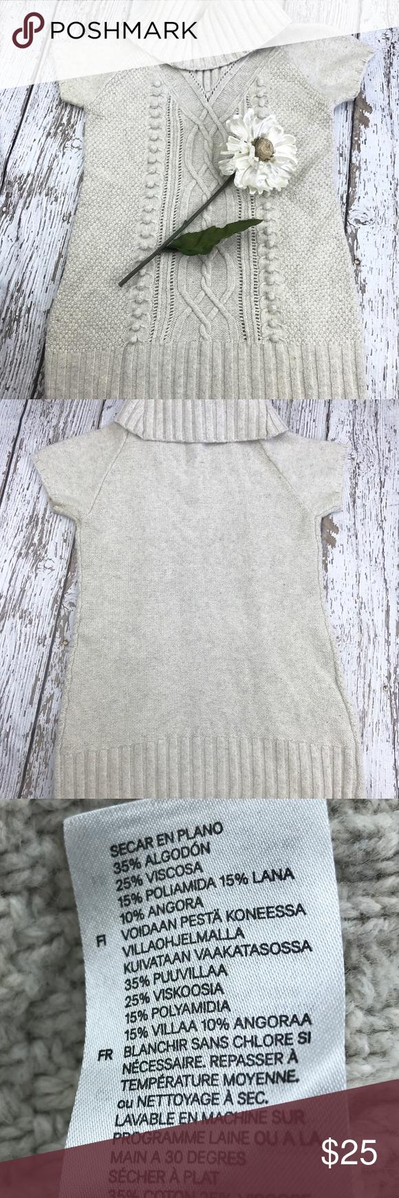 39047f7a7a3 SALE H M Cream Cowl Neck Sweater Dress Gorgeous H M Cream Cowl Neck Sweater  Dress 31