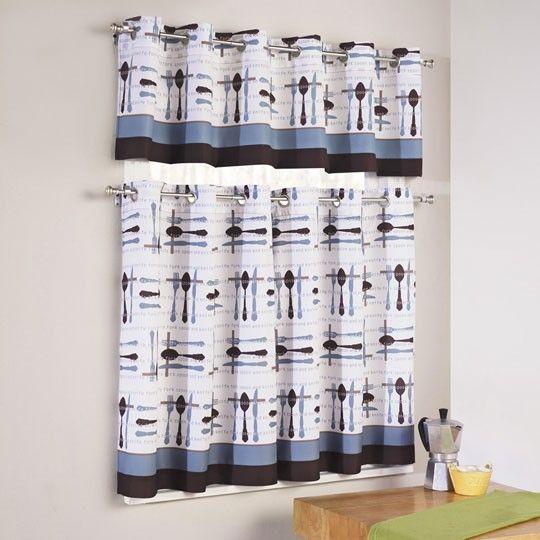 Cutlery Kitchen Curtain $12.99 At Annau0027s Linens