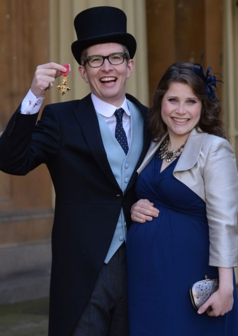 Choirmaster Gareth Malone Was Joined By His Wife Rebecca Picture Stefan Rousseau PA