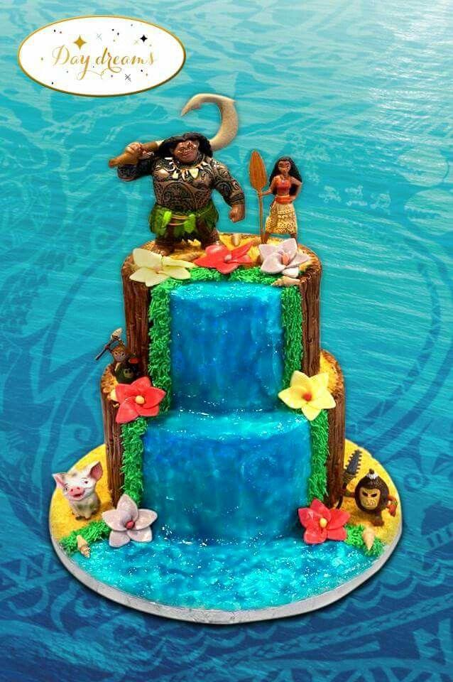 Gateaux Wedding Cake Vaiana