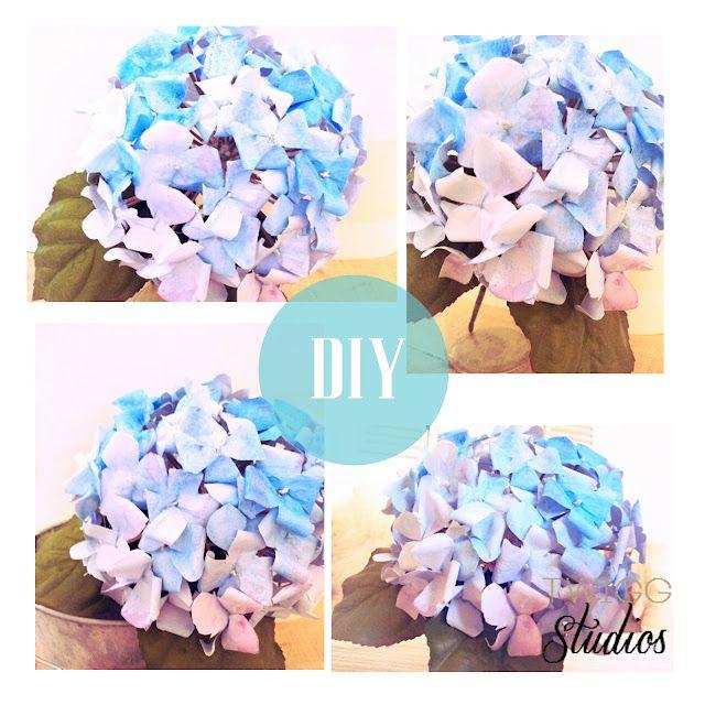 ..Twigg studios: diy paper hydrangeas