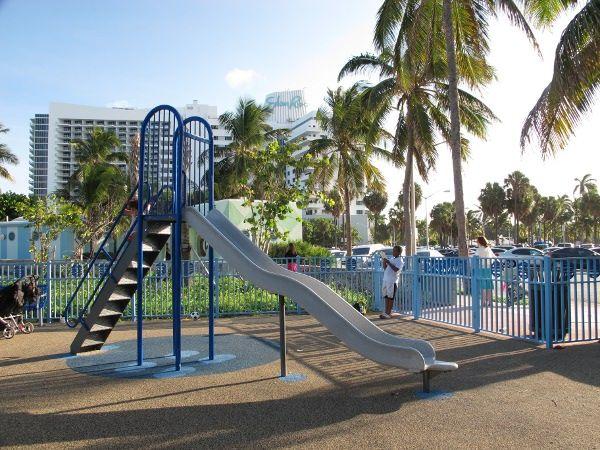 Indian Beach Park In Miami Fl A