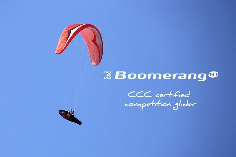 Boomerang 10 certificato CCC