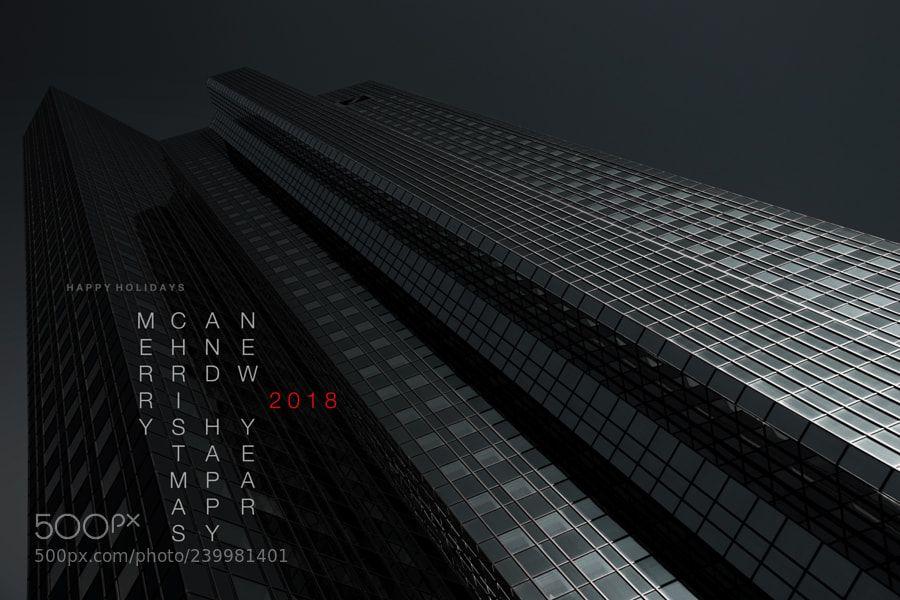 Deutsche Bank Towers Frankfurt am Main by jr_hamburg (With
