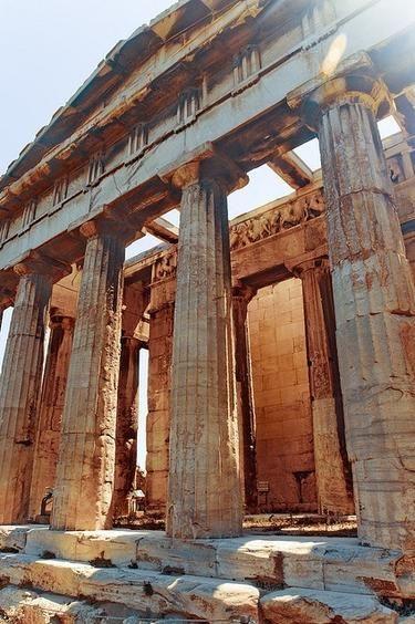 Temple of Hephaestus - Acropolis, Greece