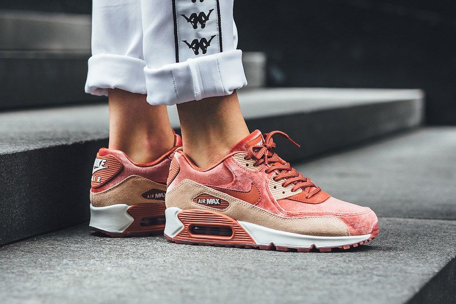 Nike WMNS Air Max 90 LX Dusty Peach | Fashun. in 2019 | Nike