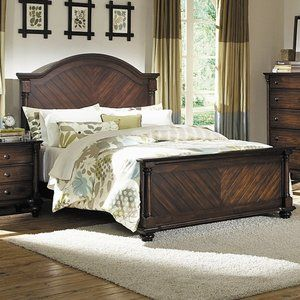 Woodbridge Home Designs Chaplin Sleigh Bed Home Bedroom Sets