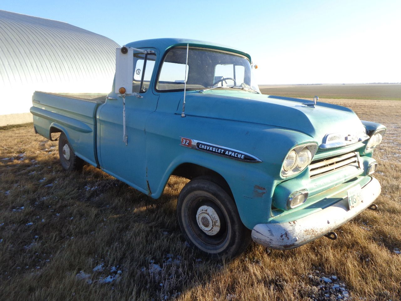 1959 Chevrolet 9320 2wd Long Box Truck 6 Cyl 3 Spd Trans On Tree Fleetside Radio 64 193 Miles Showing S 93204604978a Original Owner Shedded