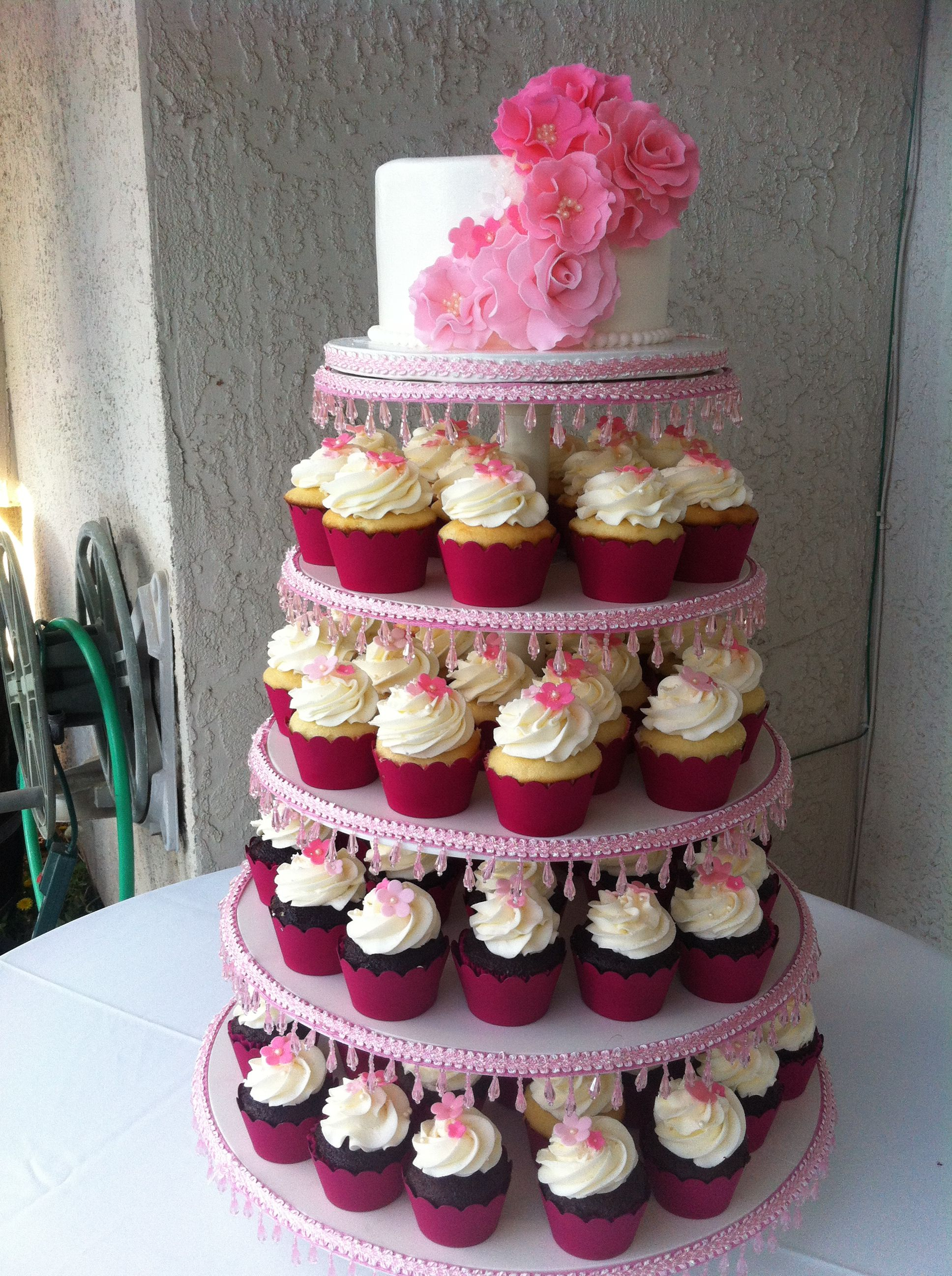 pink quince cake wedding cakes pinterest quince