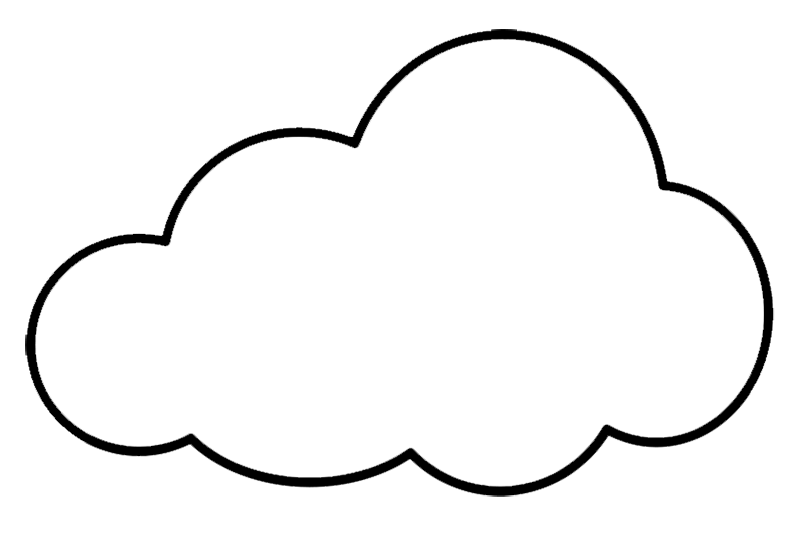 Outline Cloud Clipart Free Download Png Images Cloud Clipart In 2020 Free Clip Art Image Cloud Clip Art