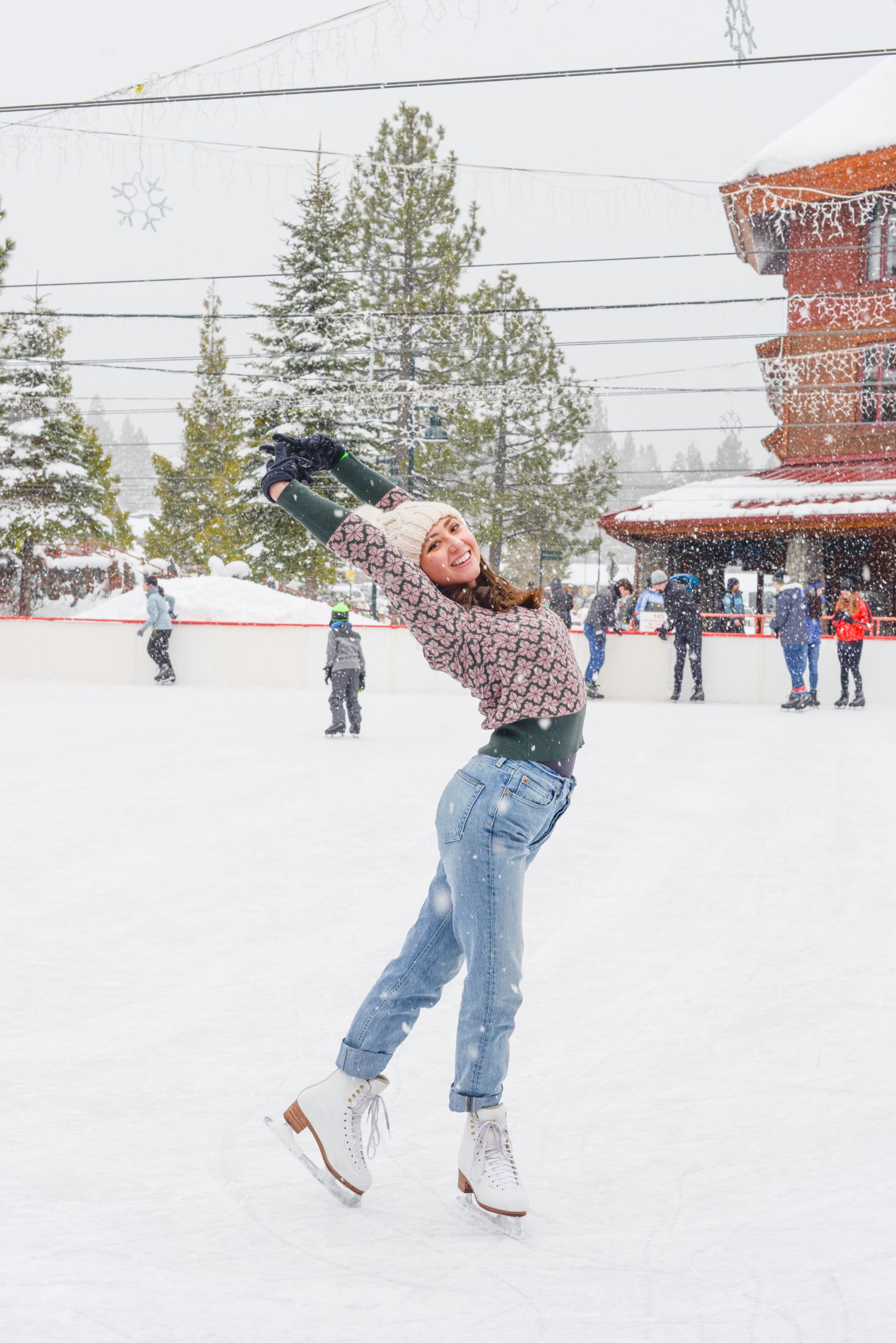 Ice skating is the best outdoors! I love feeling the cold air rush through my face!   #iceskate #figureskating #figureskater #figureskatingdress #figures #laketahoe #winter #wintersport #iceskate #jackson