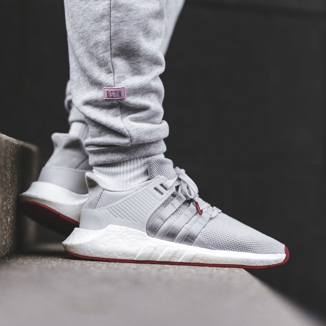 huge discount 8d921 b1975 Release Date  March 1, 2018 Adidas EQT Support 9317 Matte Silver Credit   BSTN