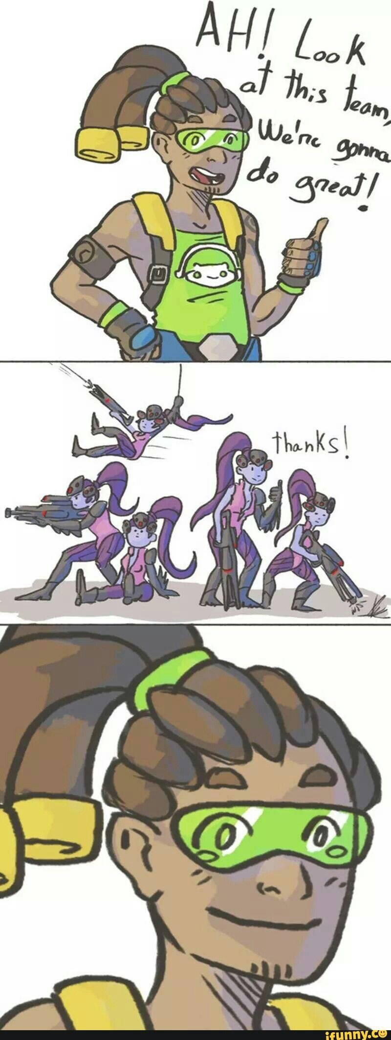 I hate it when they choose so much widowmakers and the worst of all, I will go healer and die 99% of the time.